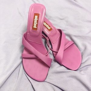 2000s Pink Mules 💘 >> Size 8